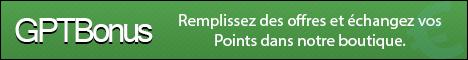 Bannière GPTBonus